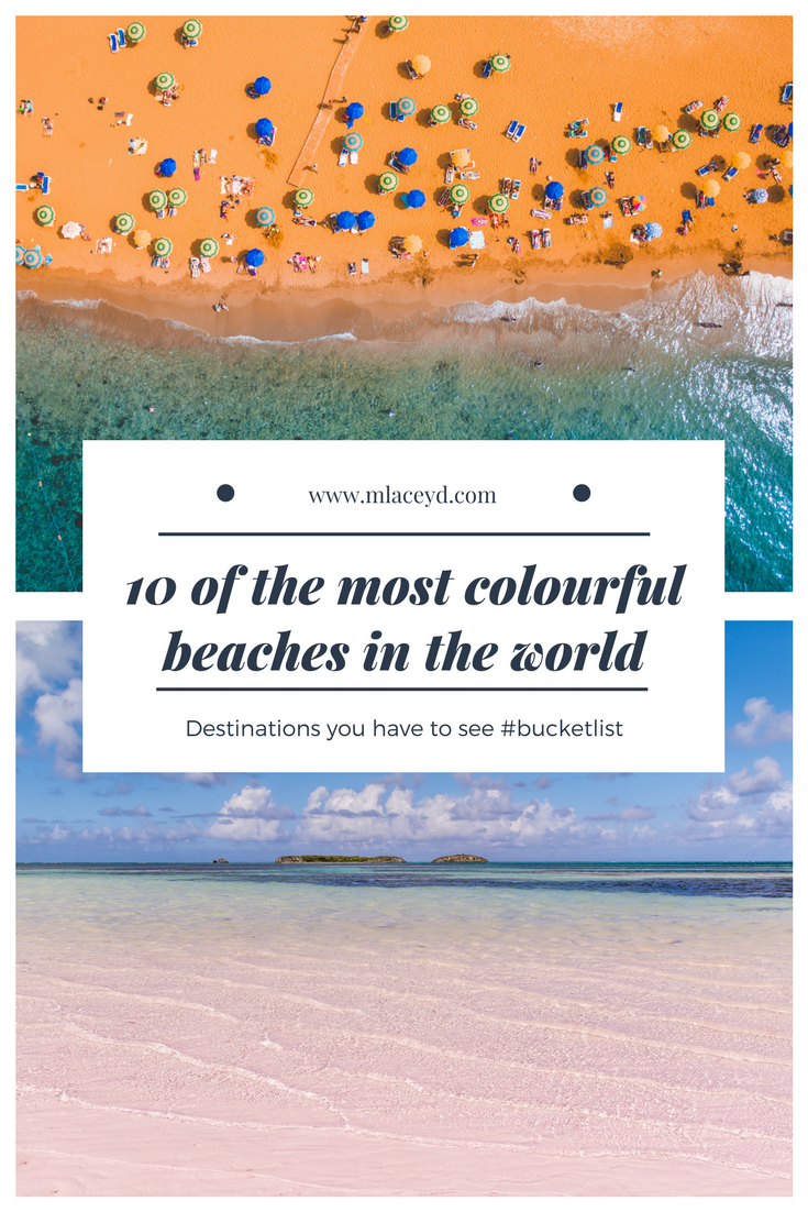 colourful beaches