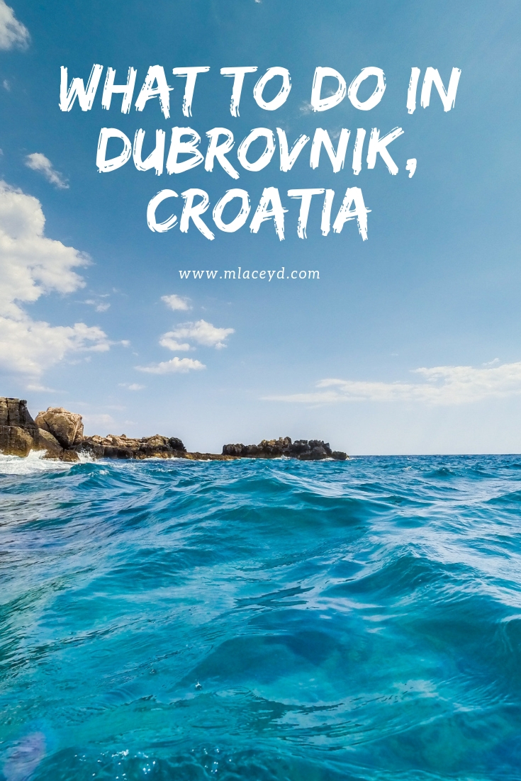 things to do in Dubrovnik - best beaches