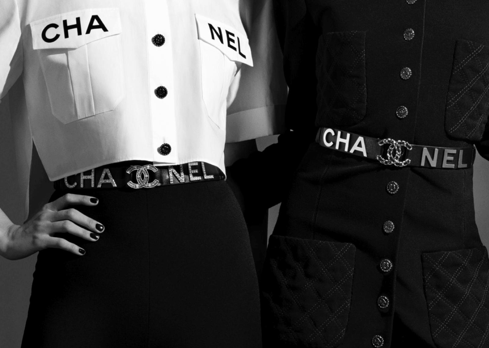 chanel belts