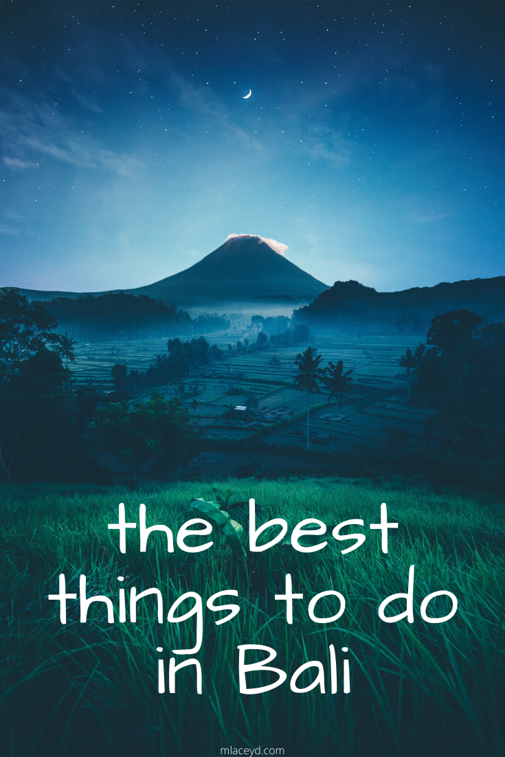 The best things to do in bali