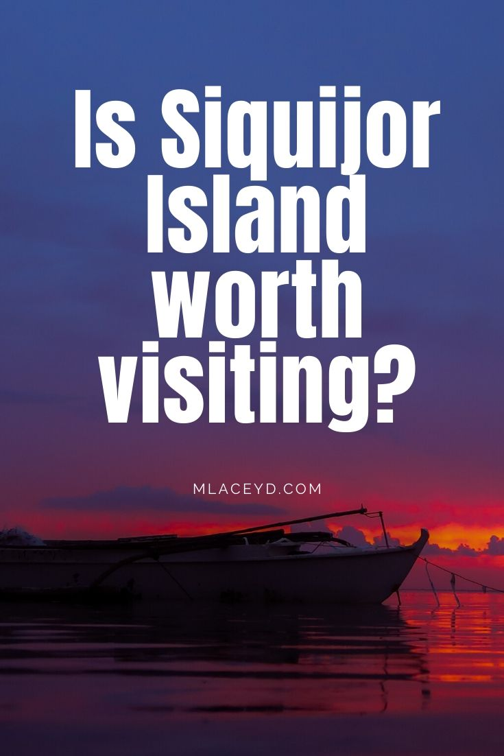 is Siquijor island worth visiting Philippines