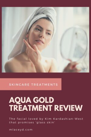 What is the aqua gold treatment?