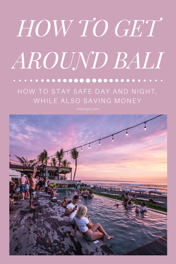 How to get around Bali