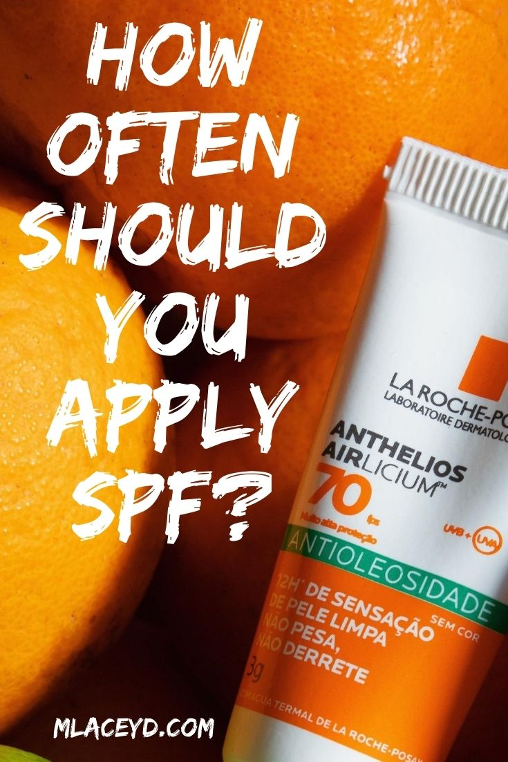 how often should you reapply SPF