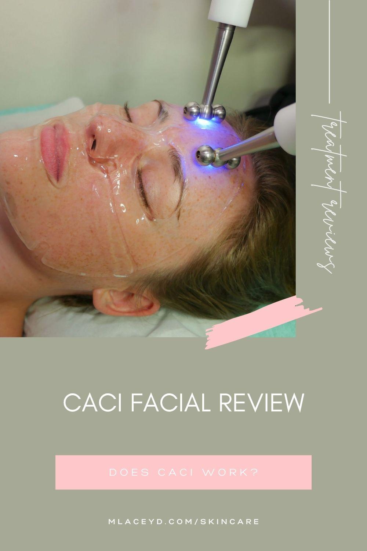 CACI facial review - Does CACI work?