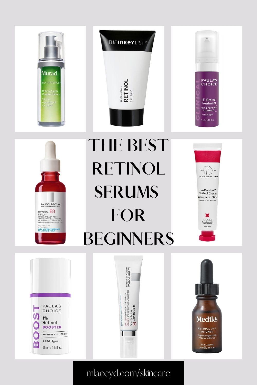 the best retinol serums for beginners