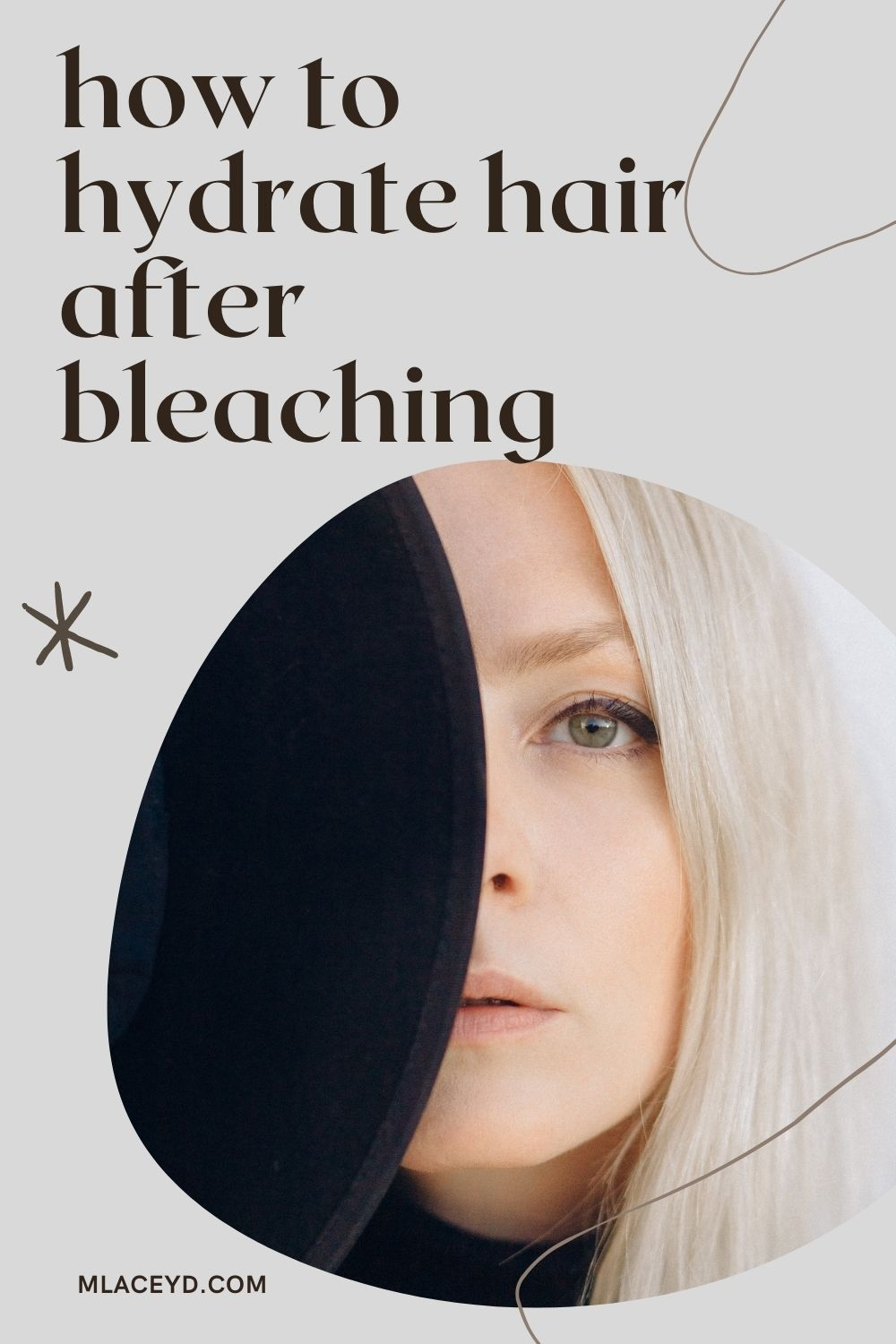 How to hydrate hair after bleaching